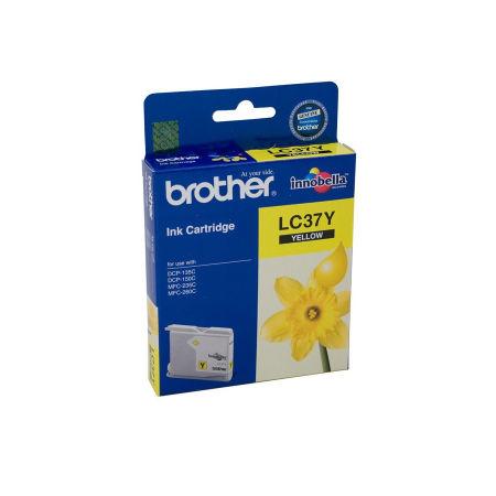 Brother LC37-LC970 Sarı Orjinal Kartuş