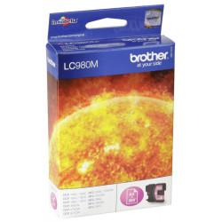 Brother - Brother LC38-LC980 Kırmızı Orjinal Kartuş