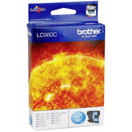 Brother LC38-LC980 Mavi Orjinal Kartuş