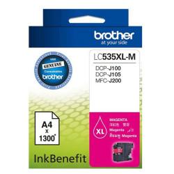 Brother - Brother LC535XL Kırmızı Orjinal Kartuş