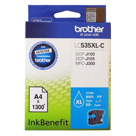 Brother LC535XL Mavi Orjinal Kartuş