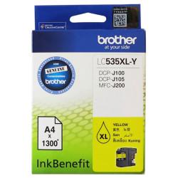 Brother - Brother LC535XL Sarı Orjinal Kartuş