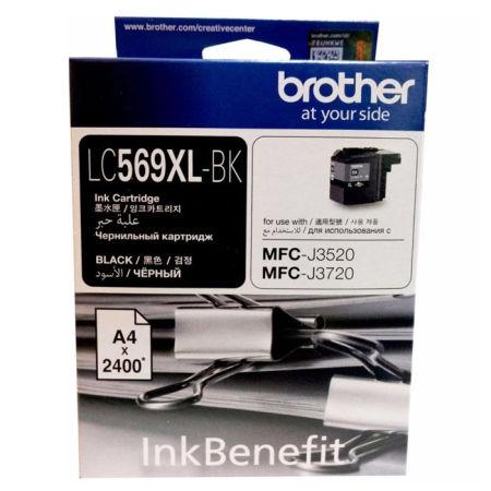 Brother LC569XL Siyah Orjinal Kartuş