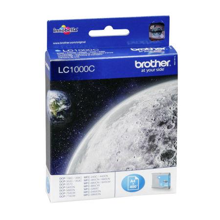 Brother LC57-LC1000 Mavi Orjinal Kartuş
