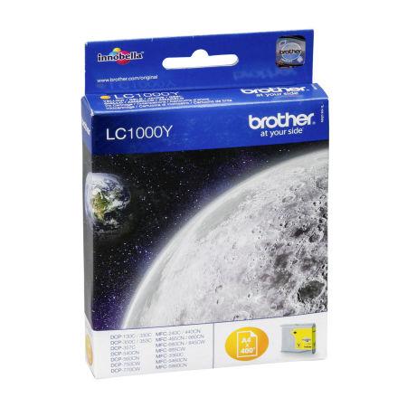 Brother LC57-LC1000 Sarı Orjinal Kartuş
