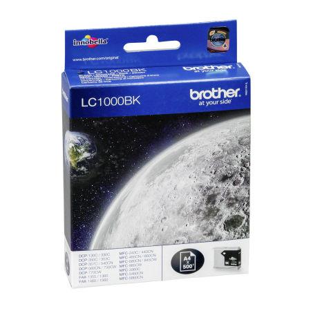 Brother LC57-LC1000 Siyah Orjinal Kartuş