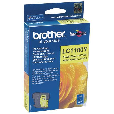 Brother LC67-LC1100 Sarı Orjinal Kartuş
