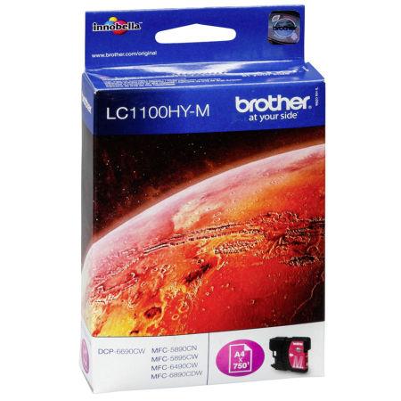 Brother LC67H-LC1100H Kırmızı Orjinal Kartuş Yüksek Kapasiteli