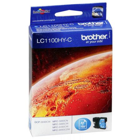 Brother LC67H-LC1100H Mavi Orjinal Kartuş Yüksek Kapasiteli