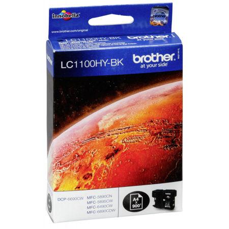 Brother LC67H-LC1100H Siyah Orjinal Kartuş Yüksek Kapasiteli