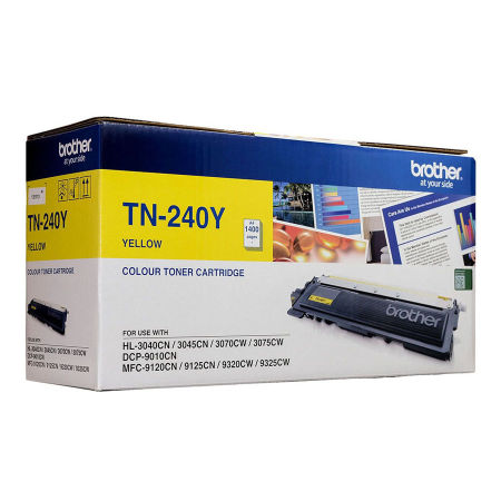 Brother TN-240 Sarı Orjinal Toner