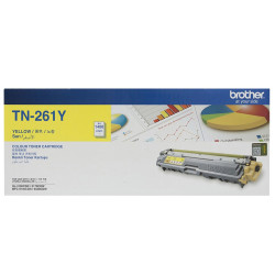 Brother - Brother TN-261 Sarı Orjinal Toner