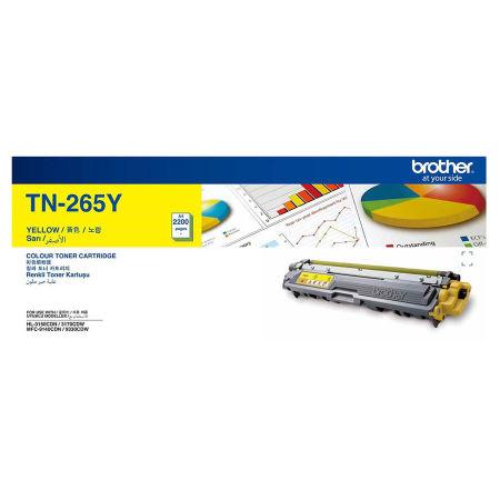 Brother TN-265 Sarı Orjinal Toner Yüksek Kapasiteli