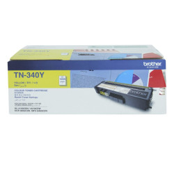 Brother - Brother TN-340 Sarı Orjinal Toner