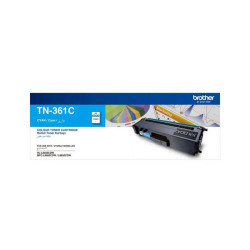 Brother - Brother TN-361 Mavi Orjinal Toner