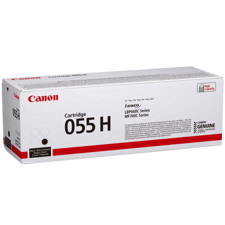 Canon CRG-055H/3020C002 Siyah Orjinal Toner Yüksek Kapasiteli