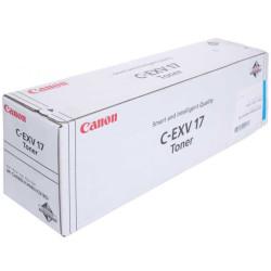 Canon - Canon C-EXV-17/0261B002AA Mavi Orjinal Fotokopi Toneri