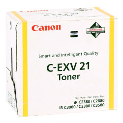 Canon - Canon C-EXV-21/0455B002AA Sarı Orjinal Fotokopi Toneri