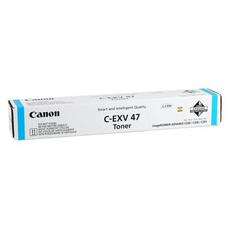 Canon C-EXV-47/8517B002 Mavi Orjinal Fotokopi Toneri