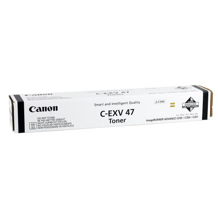 Canon C-EXV-47/8516B002 Siyah Orjinal Fotokopi Toneri
