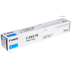 Canon - Canon C-EXV-55/2183C002 Mavi Orjinal Fotokopi Toneri