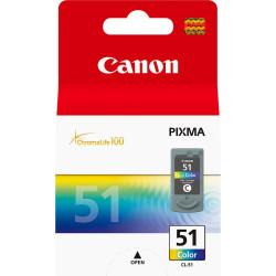 Canon - Canon CL-51/0618B001 Renkli Orjinal Kartuş