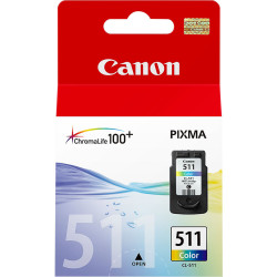 Canon - Canon CL-511/2972B001 Renkli Orjinal Kartuş