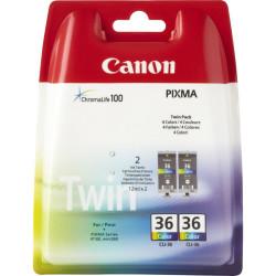 Canon - Canon CLI-36/1511B018 Renkli Orjinal Kartuş İkili Paket