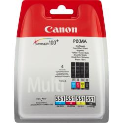 Canon - Canon CLI-551/6509B009 Orjinal Kartuş Avantaj Paketi