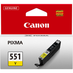 Canon - Canon CLI-551/6511B001 Sarı Orjinal Kartuş