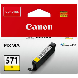 Canon - Canon CLI-571/0388C001 Sarı Orjinal Kartuş