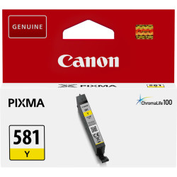 Canon - Canon CLI-581 Sarı Orjinal Kartuş