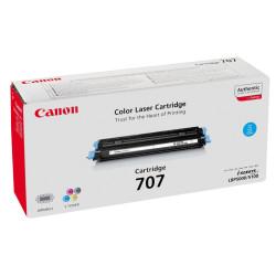 Canon - Canon CRG-707 Mavi Orjinal Toner