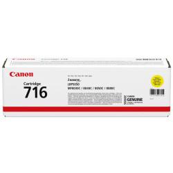 Canon - Canon CRG-716/1977B002 Sarı Orjinal Toner