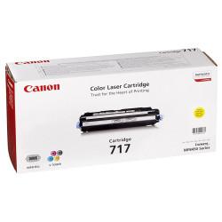 Canon - Canon CRG-717 Sarı Orjinal Toner