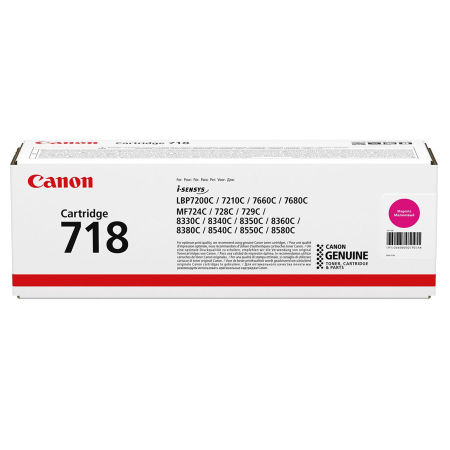 Canon CRG-718 Kırmızı Orjinal Toner