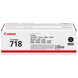 Canon - Canon CRG-718/2662B017 Siyah Orjinal Toner 2li Paketi