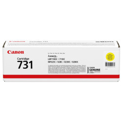 Canon - Canon CRG-731 Sarı Orjinal Toner