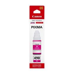 Canon - Canon GI-490 Kırmızı Orjinal Mürekkep
