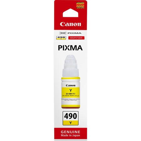 Canon GI-490/0666C001 Sarı Orjinal Mürekkep