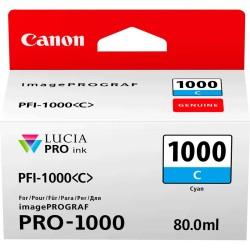 Canon - Canon PFI-1000C Mavi Orjinal Kartuş