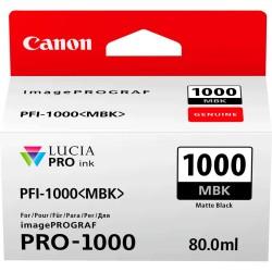 Canon - Canon PFI-1000MBK Mat Siyah Orjinal Kartuş