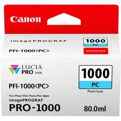 Canon - Canon PFI-1000PC Foto Mavi Orjinal Kartuş