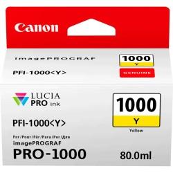 Canon - Canon PFI-1000Y Sarı Orjinal Kartuş