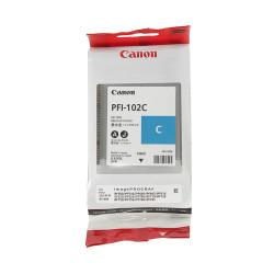 Canon - Canon PFI-102C Mavi Orjinal Kartuş