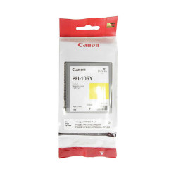 Canon - Canon PFI-106Y/6624B001 Sarı Orjinal Kartuş