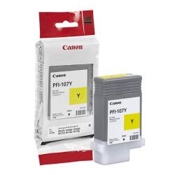Canon - Canon PFI-107Y Sarı Orjinal Kartuş