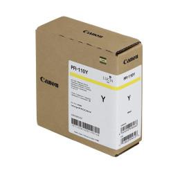 Canon - Canon PFI-110Y Sarı Orjinal Kartuş