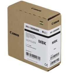 Canon - Canon PFI-1300MBK/0810C001 Mat Siyah Orjinal Kartuş