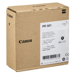 Canon - Canon PFI-301MBK/1485B001 Mat Siyah Orjinal Kartuş